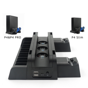 Image 5 - Multifunktionale Vertikale Console Cooling Stand Controller Ladegerät Ladestation Für SONY Playstation 4 PS4/PS4 Dünne/PS4 Pro