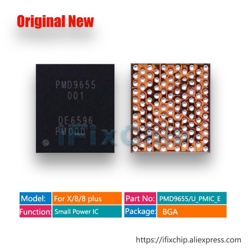10 pcs/lot 100% nouveau PMD9655 pour iphone x/8/8plus/8plus U_PMIC_E RF petite gestion de puissance RF PMIC IC puce-in Circuits intégrés from Composants électroniques et fournitures on AliExpress
