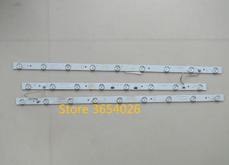 3PCS LED Backlight Strip Lamp For MTV-3223LW LED315D8 LED315D9-ZC14-03 32P11 LE32F8210 32PAL5358/T3 LED32A700 LE32MXF5 LD32U3100
