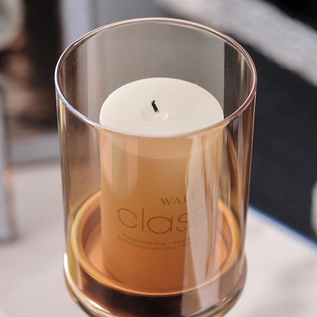Luxury crystal candle holders meta