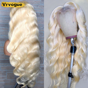 613 Lace Front Wig Human Hair Remy Brazilian Body Wave Part Lace Front Human Hair Wigs 150% Blonde Lace Part Wigs T-Part Lace