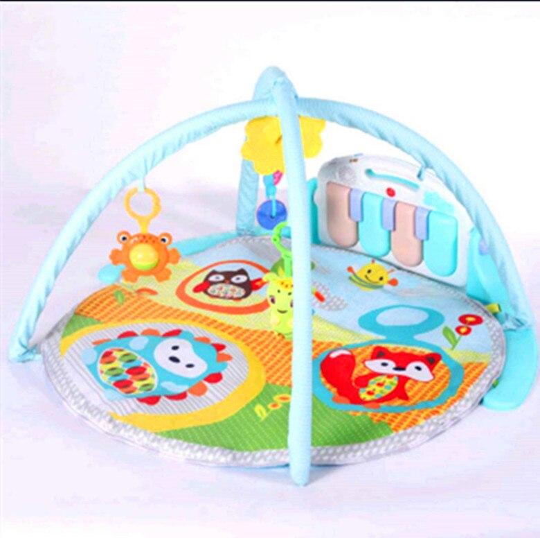 Offre spéciale multi-fonctionnel bébé Piano Fitness support bébé tapis de jeu