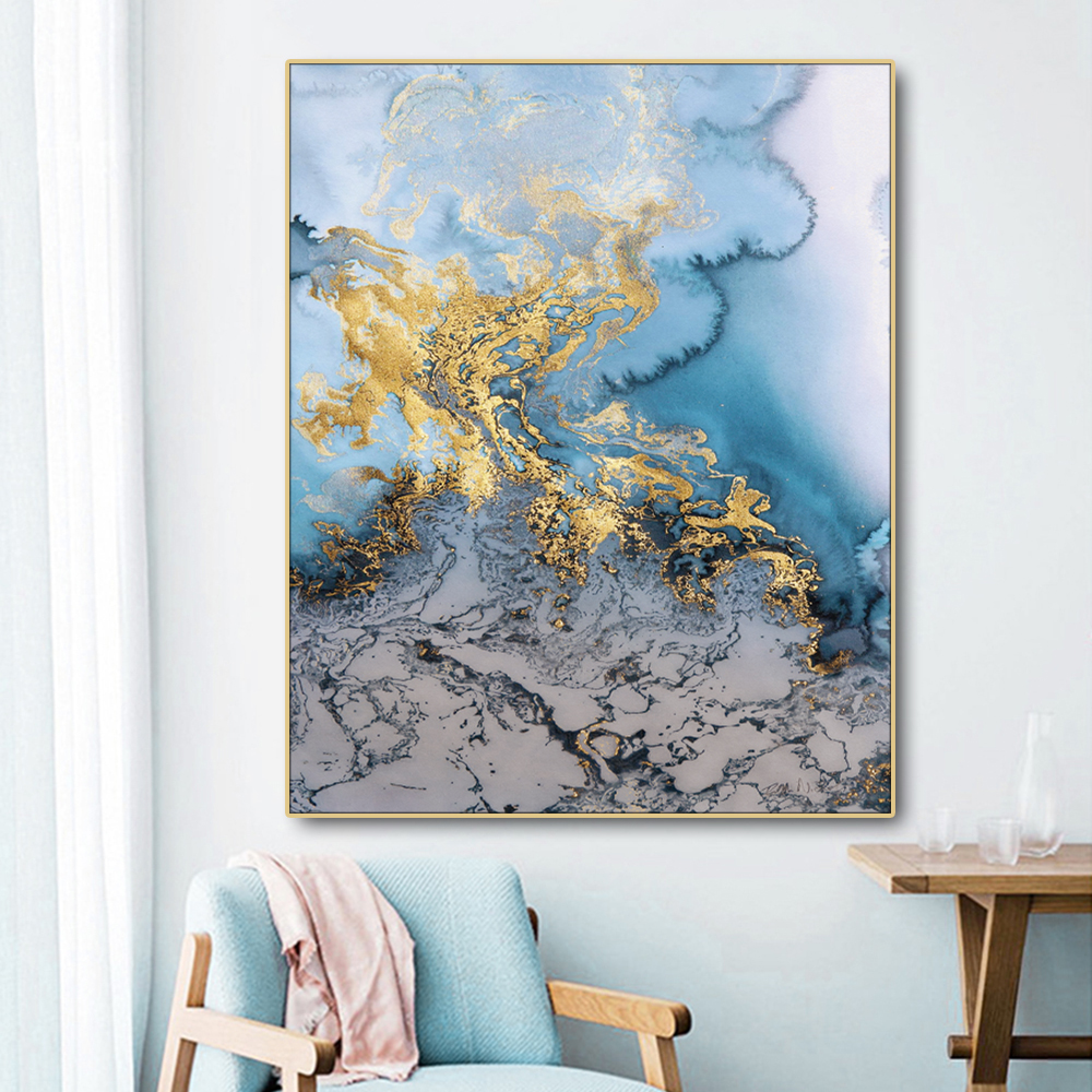 Abstract Artistic Nordic Poster Canvas Painting Calligraphy Prints Picture For Living Room House Wall Decor Art  Home Decoration