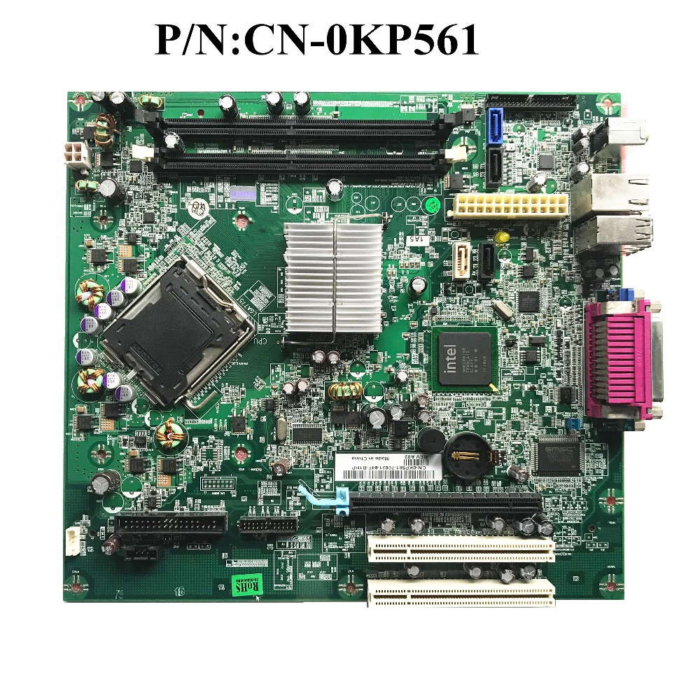 Excellent For Dell 330 DT Desktop Motherboard DDR2 CN-0KP561 KP561 0KP561 100% Working