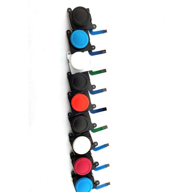 1 pièces 3D joystick analogique bâtons remplacement du capteur pour Nintend Switch NS pour Joy Con contrôleur pièces réparation noir