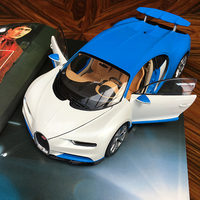 Welly GTA1: 18 Bugatti Chiron super running model Simulation Alloy Car Model Collection Gift Decoration toy
