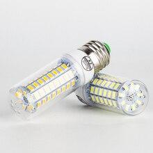 1PC E27 E14 7W 9W 12W 15W 20W 25W 5730 SMD LED Corn Bulb Lamp Light Warm White