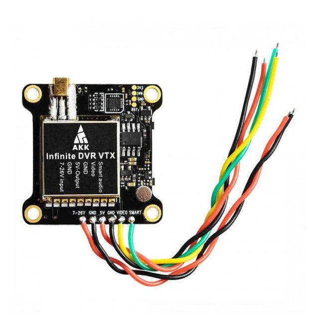 AKK Unendliche DVR VTX 25/200/600/1000mW Power Umschaltbar FPV Sender Unterstützung Smart Audio für drone Quadcopter Teile Accs