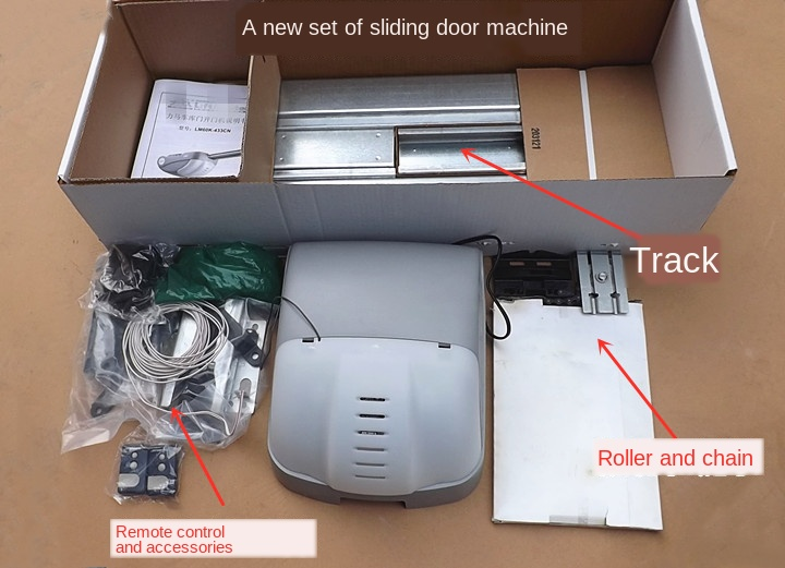 Stock Garage Turning Plate Rolling Door Garage Door Opener Motor LM60K-433CN