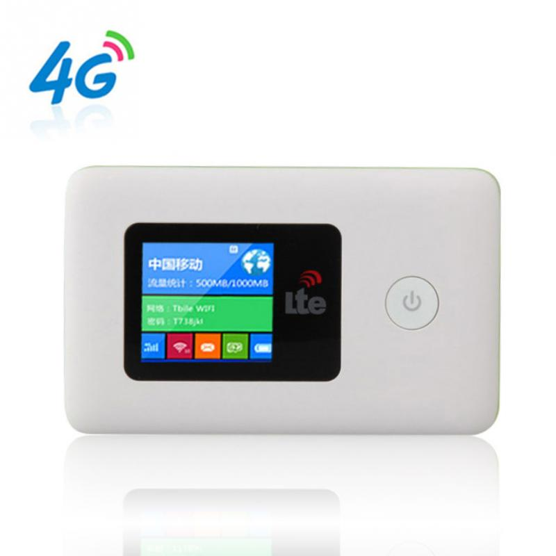 4G LTE Wifi Router Mini Router MIFI113L Wireless Portable Mobile Hotspot Car Wi-fi With Sim Card Slot