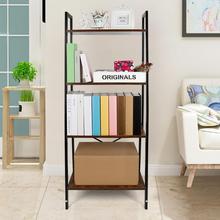 Kitchen Bathroom Trolley Floor Shelf Multi-layer Removable Book Storage Rack Space Saving Mobile Storage Rack Organizer Hwc