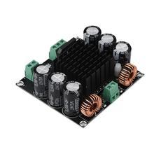 Placa amplificadora digital tda8954 btl 420w, placa de amplificador digital duplo ac 24v grande potência 420w canal único de maior eficiência mono placa amp amp