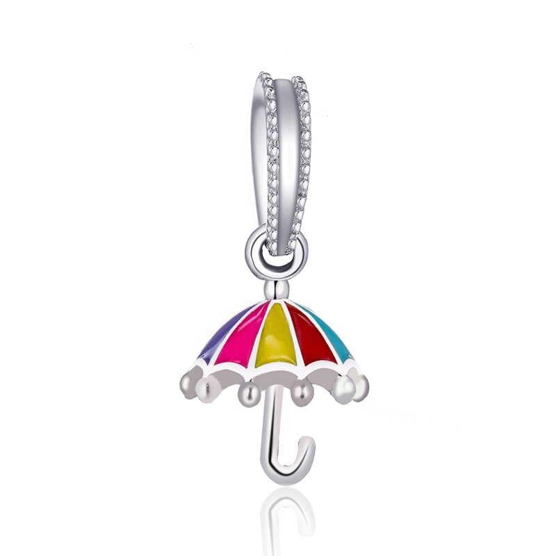 New Arrival kryształowy samolot pies parasol czarownica ziemia strzała w sercu koraliki Fit oryginalny Pandora Charms dla kobiet tworzenia biżuterii