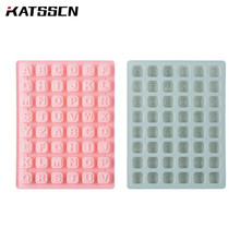 3d silicone molds for kitchen 26 alphabets chocolate baking mold handmade ice moulds DIY cake tools