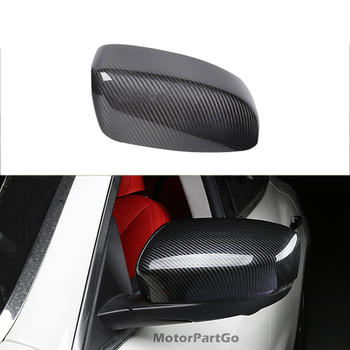 Real Crabon Fiber Mirror Cover 1 pair for Maserati Levante Add On style 2016up 1