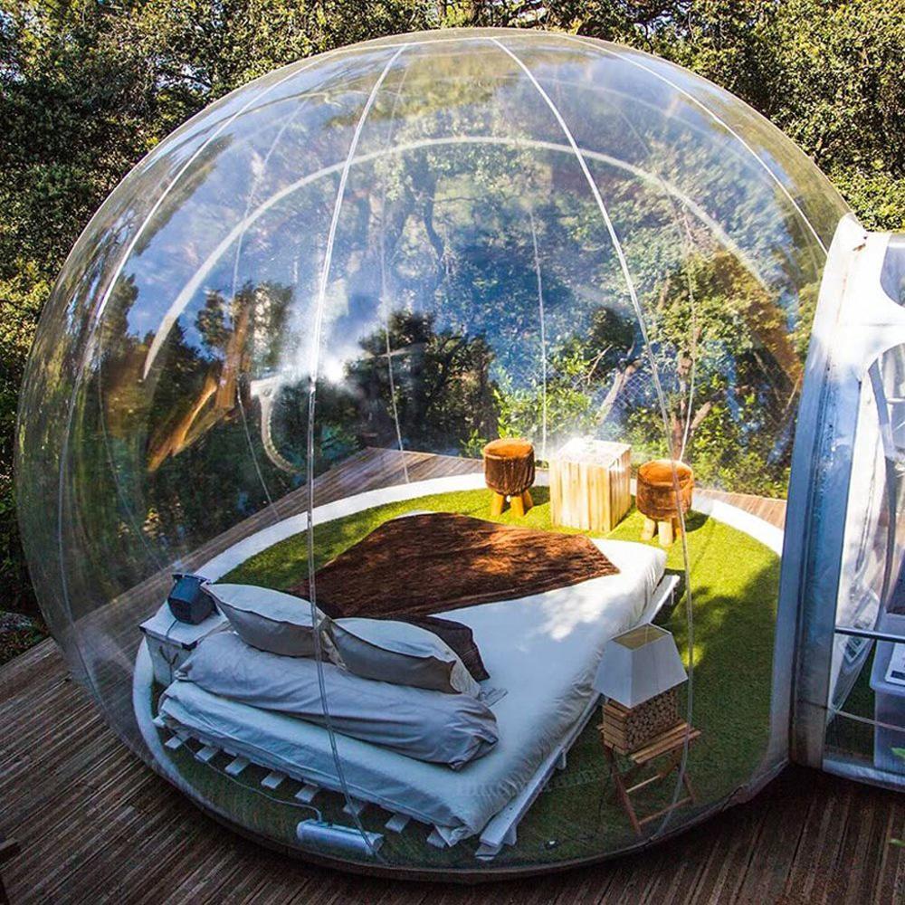 4M Dia Inflatable Bubble Tent,Hot Sale Inflatable Bubble House Bubble Dome Tent Igloo Tent