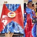 5 Yards African Becken Riche Stoff Hohe Qualität Brokat Design Bazin Riche Nähen Guinea Druck Spitze für Dame Party Kleider