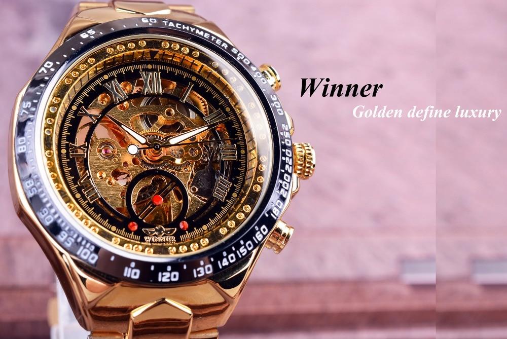 H9538ae65596f457fb268c38b049d4c54b Winner Mechanical Sport Design Bezel Golden Watch Mens Watches Top Brand Luxury Montre Homme Clock Men Automatic Skeleton Watch
