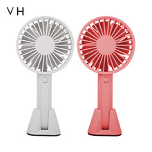 Original VH fan Portable Handheld With Rechargeable Built in Battery USB Port Design Handy Mini Fan For Smart Home