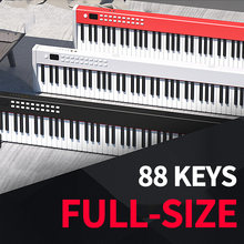 Professional Electric Digital Piano Music Instruments Synthesizer USB Midi Musical Keyboard 88 Keys Controller Children's Adults