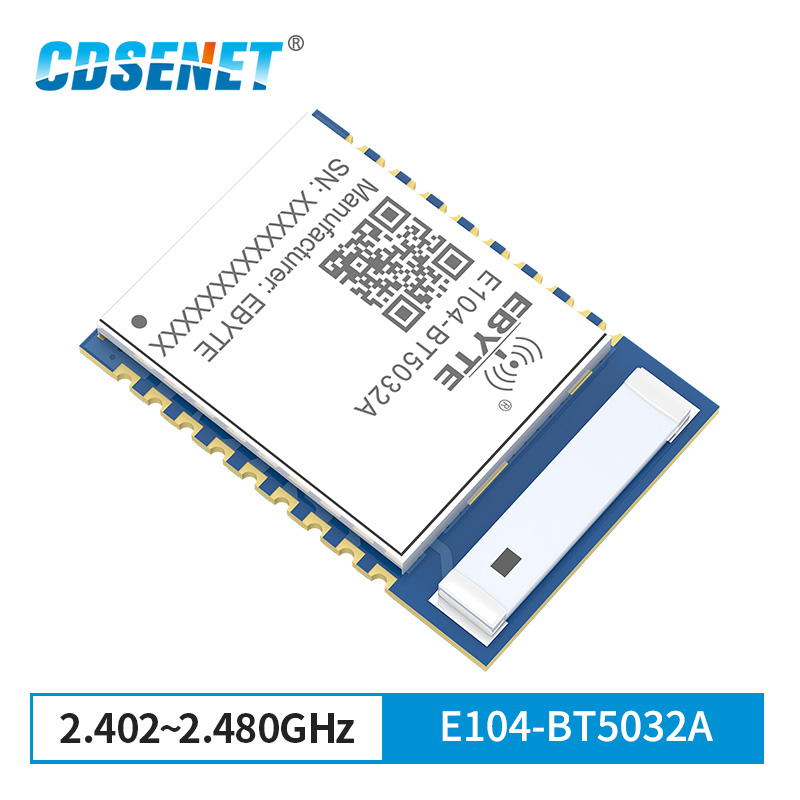 NRF52832 BLE5.0 UART 2.4GHz Serial Port To BLE Bluetooth Module E104-BT5032A IBeacon Ceramic Antenna Wireless Transceiver