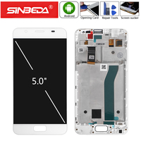 """5.0"""" Original For ASUS ZenFone Pegasus 4A ZB500TL LCD Display Touch Screen Digitizer with Frame For ASUS ZB500TL X00KD Display