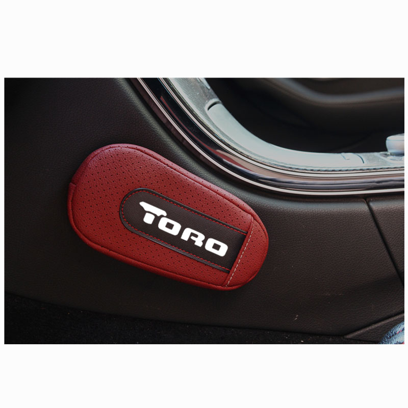 High Quality Leather Leg Cushion Knee Pad Car Door arm pad Interior Car Accessories For Fiat Toro|Seat Supports| |  - title=