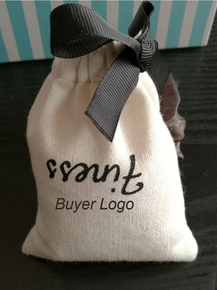 Gift Bags Pouches Hair-Eyelashes Makeup Cotton Ribbon Drawstring 9x12cm 10x15cm 8x10cm