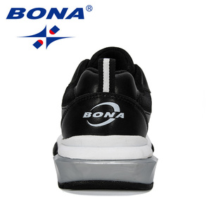 Image 3 - BONA 2019 חדש מעצב נעלי ריצה גברים ספורט חיצוני מוגבר תחתון סניקרס הליכה גבר נעלי ריצה הנעלה