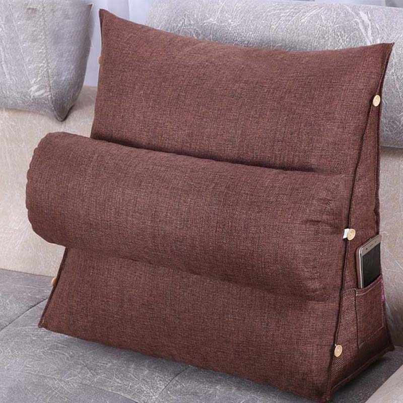 orthopedic lumbar support pillow chair massage seat insert cushion mat backrest pad armchair settee back cushions