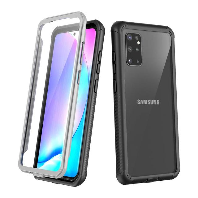 Full Body Case for Samsung Galaxy S20 Plus Ultra Shockproof Drop Resistant 360 Protect Case Cover w/ Built in Screen Protector