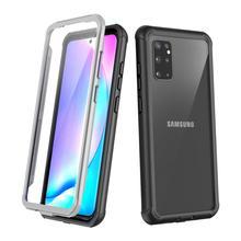 Volle Körper Fall für Samsung Galaxy S20 Plus Ultra Stoßfest Drop Beständig 360 Schützen Fall Abdeckung w/Gebaut in Screen Protector