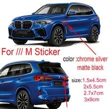Автомобильные эмблемы значки крыло багажника наклейки логотип для BMW M Sport E46 E39 E60 F30 E90 F10 F30 E36 X5 E53 E30 E34 X5 X3