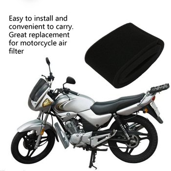 Black Foam Air Filter Cleaner Sponge Replacement for Honda CG125 Moped Scooter Dirt Bike Motorcycle D50 image