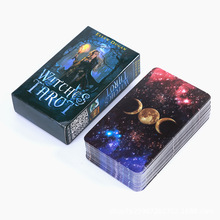2020 New Destiny Divination Witch Tarot Cards Divination Fate Tarot Deck Multiplayer Poker Board Game Party Oracles Cards Game