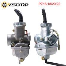 ZSDTRP карбюратор для 50cc 70cc 90 100cc 110cc 125cc PZ16 PZ18 PZ20 PZ22 карбюратор Coolster NST китайский ATV