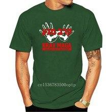 T-shirt sconto 100% cotone per uomo in cotone Cool Design 3D t-shirt Krav Maga sistema di combattimento israele band