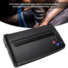 Tattoo-Transfer-Machine Stencils-Device Printer Copier Thermal-Tool for Photos Black