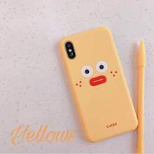 Cute cartoon style for iPhone 6 6S 7 8 Plus X XR XS MAX 5 5s SE mobile phone shell lovely soft TPU Shell