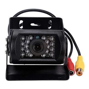 цена на Waterproof 18 LED Car Rear View Reversing Parking Backup Camera IR Night Vision For 12V 24V Bus Truck Motorhome Van
