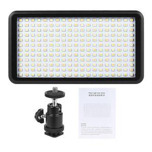Image 2 - Hot 3C Ultra thin 3200K/6000K Dimmable Studio Video Photography LED Light Panel Lamp 228pcs Beads for Canon Nikon DSLR Camera DV