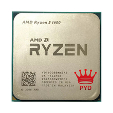 Amd Ryzen 5 1600 Processor 3.2Ghz Zes-Core Twaalf Draad 65W R5 1600 Cpu Socket AM4 5 1600