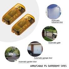 Capteur infrarouge pour porte automatique, détecteur infrarouge, porte coulissante, porte de Garage, sécurité, 20m 12M IP54 24v/12vdc