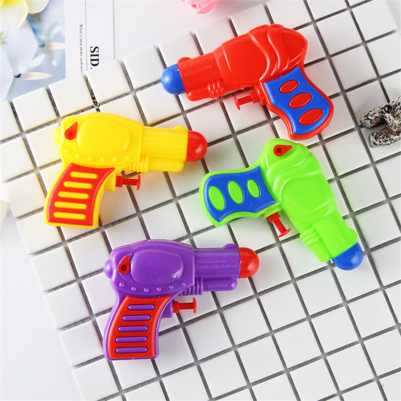 Plastic Squirt Water Gun Spray Mini Pistol HolidaySummer Outdoor Swimming Pool Beach Game Water Park Toys Kids Boys Party Favor