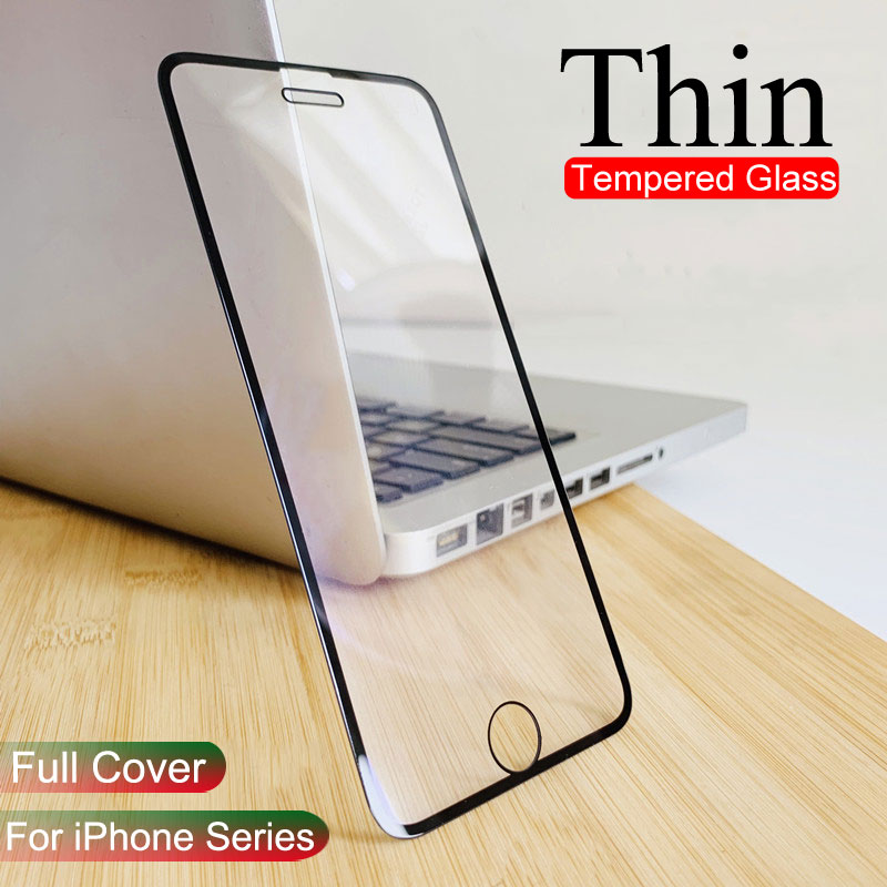 0.22mm Thin Protective Glass For IPhone 11 Pro Max 7 8 6 6s Plus 7Plus 8Plus X XS MAX XR 6sPlus Tempered Glass Screen Protector