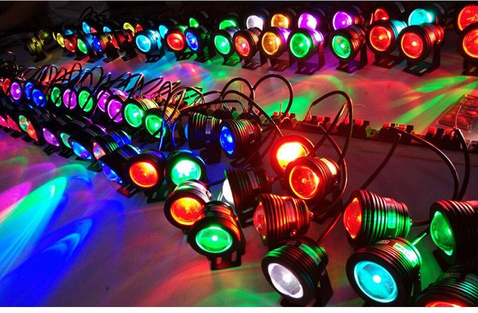 alumínio lâmpada luz inundação 12 w iluminação