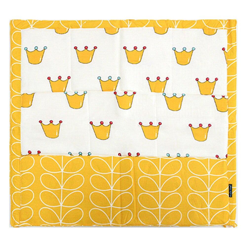 Многофункциональные Товары для малышей, многоуровневая подвесная сумка для хранения, органайзер для кровати, 60*50 см, мультяшный рисунок