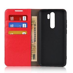 Image 3 - 360 натуральная кожа кожаный чехол противоударный Флип Бумажник Книга телефон чехол книжка для на ксиоми редми нот 8 про нот8 8про нот8про Xiaomi Redmi Note 8 Pro Note8 4/6/8 64/128 ГБ Xiomi бампер
