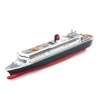1/1400 Germany Siku alloy cruise ship model ship 1723 Queen Mary II model toy collection gift ornaments assembled ship 14214 color separation model titanic model ship