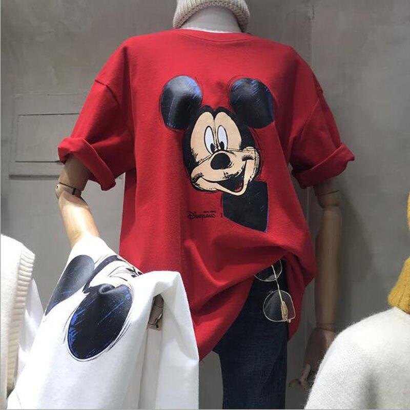 Summer New Style Female T-shirt High Quality Short Sleeve O Neck Women Tops Cute Print Women Tshirt